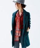 【予約販売】(11月中旬納期)ヘリンボーンツイードコート