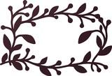 【直送可能】壁面に飾って楽しむ <国産>アイアン風プランテフレーム ワイドフォーリア