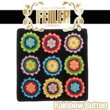 FEILER フェイラー ウォッシュクロス ハンカチ wash cloth Rainbow Button レインボーボタン