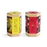 《四季を感じるお茶》キセツノオチャ ゆず玄米茶・りんご生姜茶