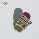 【予約販売】(9月納品)[手袋] ミトン カラフルノルディックP/W