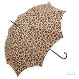 【雨傘】長傘 レオパード