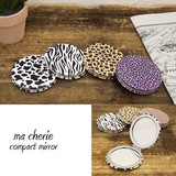 Compact Mirror Animal ROUND
