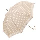 ≪2016秋冬≫【雨傘】長傘 ドット&チェック