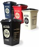 【アメリカの公園にあるゴミ箱がモチーフ】32L DUST BIN(全4色)