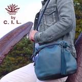 【C.I.L. シーアイエル】ころっとまるいタッセル付き小さめ2WAYショルダーバッグ