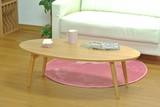 【直送可】オーバルテーブル