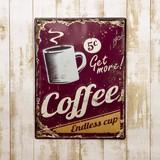【ギフトショー秋2016】アンティークエンボスプレート[Coffee]