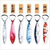 お魚ネクタイ 秋刀魚 / 金目鯛 / 鮭 / 追河 / 鮪 / 錦鯉