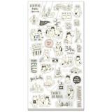 Illustrator Collection ペタンコシール 78213 きまぐれ旅行
