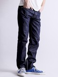 【FirstDenime】Tapered Narrow Fit A/テーパードワンウォッシュデニム【日本製】