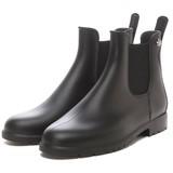【MEDUSE メデュース】サイドゴアレインブーツ  レインシューズ 長靴 JUMPY BLACK