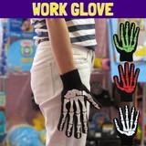 NEW!! ワークグローブ ボーン /骨/滑り止め付き/軍手のような素材の手袋です!