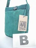 【2016新作絹染織】しっかり作られている、手染めジャカード織クラフトポシェット♪SB-20