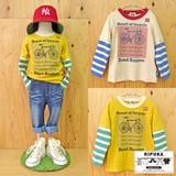 【SALE】<売れ筋商品>【2016AW新作】【RIPUKA】サイクリングレイヤーTシャツ