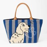 【OPEN記念SALE】<KUNIO COLLECTION>サガラ トートバッグ(犬モチーフ) 日本製