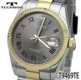 【TECHNOS】テクノス オールステンレス メンズウォッチ T9469