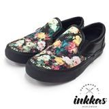 【INKKAS/インカス】花柄 ローカットスニーカー スリッポン SLIP ON【MILAN】