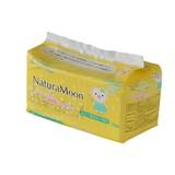 ナチュラムーン 生理用ナプキン [羽なし 多い日の昼用] トップシートコットン100%
