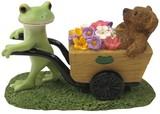 【Copeau】コポー カエルとクマの花収穫
