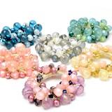 Gift Show Gift Show Cut Beads Pearl Hair Elastic