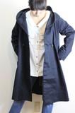 【即納】人気商品!フードタック衿コート