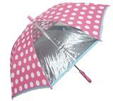 ◆2016 A&W新作◆ 【リールリール・ガールズ】子供用雨傘 ビッグドット1駒POE