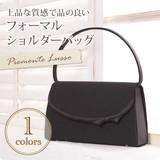 【PIEMONTE LUSSO】リボンデザイン袱紗/サブバックセット1本手フォーマルバッグ