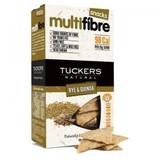 【SALE】オーストラリア産クラッカー Tucker's マルチファイバークラッカー ライ麦&キヌア
