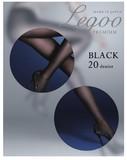 《特別な黒》黒原着融着タイツ 20デニール 日本製
