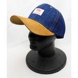 【秋冬新作】【NEW】RH DENIM×SUADE BB CAP(デニム×スエード ベースボール キャップ)
