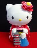 こんにちはキティ 開運貯金箱立ち富士山(インバウンド/お土産)