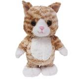 ウォーキングトーキングキティ(ネコ) チャトラ【ぬいぐるみ】