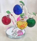★歳末SALE特価★【再入荷】ワクワク楽しい!YTS雑貨|風水 ガラスのピッコラリンゴツリー