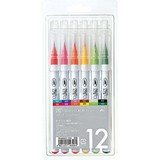 Clean Color Real Brush 12 Colors Set