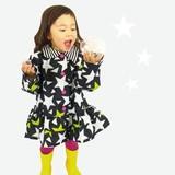 【2016春夏新作】【Fabhug】星としましま★フリルコート