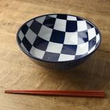 【特価品】ケミ 20.8cm丼ぶり イチマツ[B品][日本製/美濃焼/洋食器]
