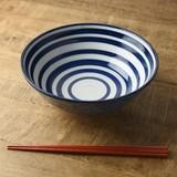 【特価品】ケミ 20.8cm丼ぶり じゃのめ[B品][日本製/美濃焼/洋食器]