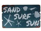 【ギフトショー秋2016】 ウッドボード(SAND SURF SUN)【28602】