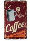 ウッドボード(Coffee)【28608】