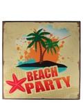 ウッドボード(BEACH PARTY)【28627】