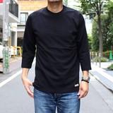 <売れ筋/人気商品>USAコットンラグラン7分袖Tシャツ