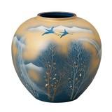KUTANI Ware Size 5 Flower Vase