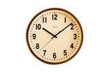 壁掛け時計 PUBLIC CLOCK ブラウン