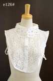 Hand Maid Embroidery Lace Material Detachable Collar