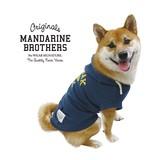 COLLEGE LOGO PARKA 2 / カレッジロゴパーカー ネイビー 犬服 ドッグウェア