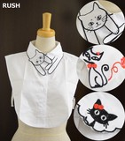 Embroidery Pattern Fashion Detachable Collar
