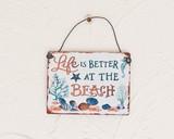 ミニハンガーLIFE IS BETTER AT THE BEACH