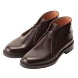 < London shoe make > 【牛革】グットイヤーウエルト製法 メンズ チャッカブーツ 502
