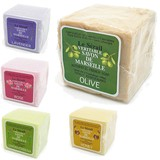 【ル セライユ サヴォンドマルセイユ】100%植物性油脂 マルセイユオリーブ石鹸
